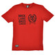 Brick Lane Bikes London Twin Logo T-Shirt Men red/black